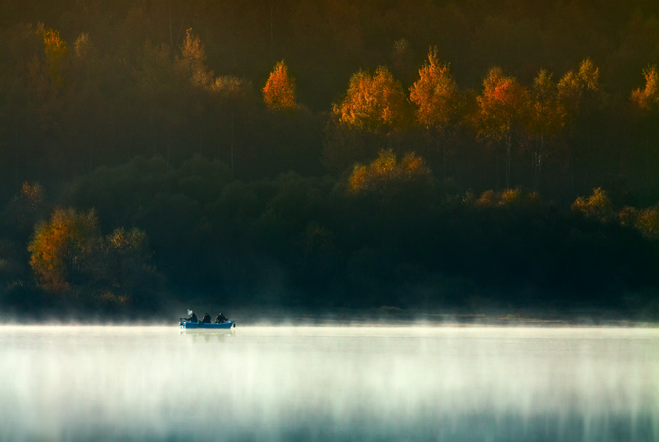 Photograph Three Men in a Boat (To Say Nothing of the Dog) by Izabela & Dariusz Mitręga on 500px