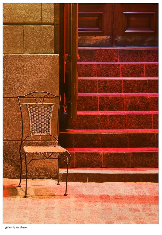 Photograph Chair by the Stairs  by Ort Baldauf on 500px
