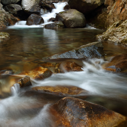 Creek in the Apls, Canon EOS 750D, Canon EF-S 18-55mm f/3.5-5.6 IS STM