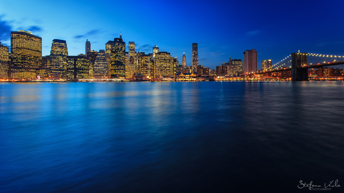 Photograph Blue hour over Manhattan by Stefano  Viola on 500px