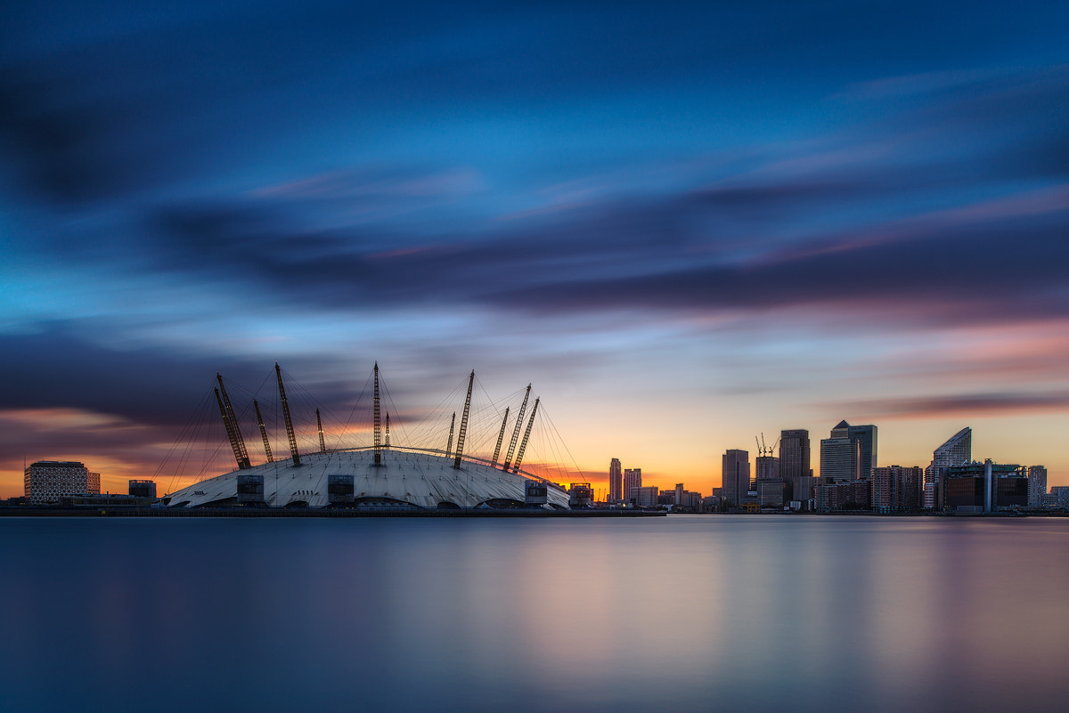 Photograph North Greenwich by Mirek Galagus on 500px