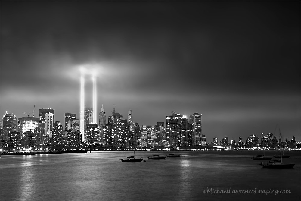 Photograph 9/11 Tribute of Light by Michael Lawrence on 500px