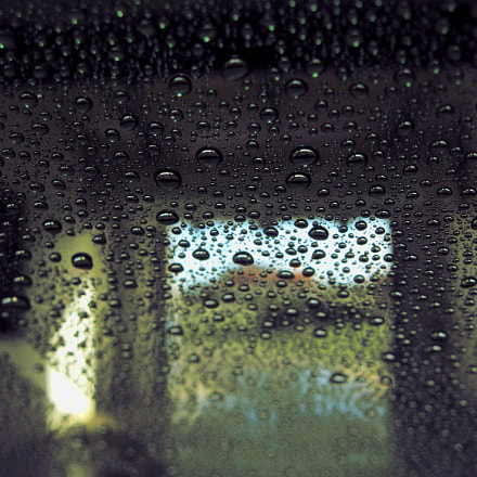 Wet Car Window, Canon POWERSHOT A560