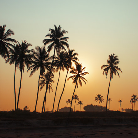 Indian Sunrise, Canon EOS 70D, Canon EF 75-300mm f/4-5.6 IS USM