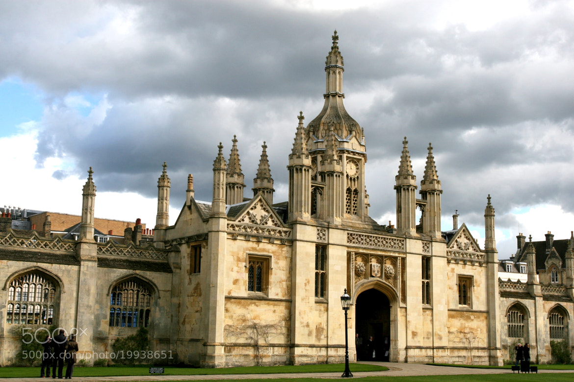 Photograph Entrance to King's College, Cambridge by Dana Pavel on 500px