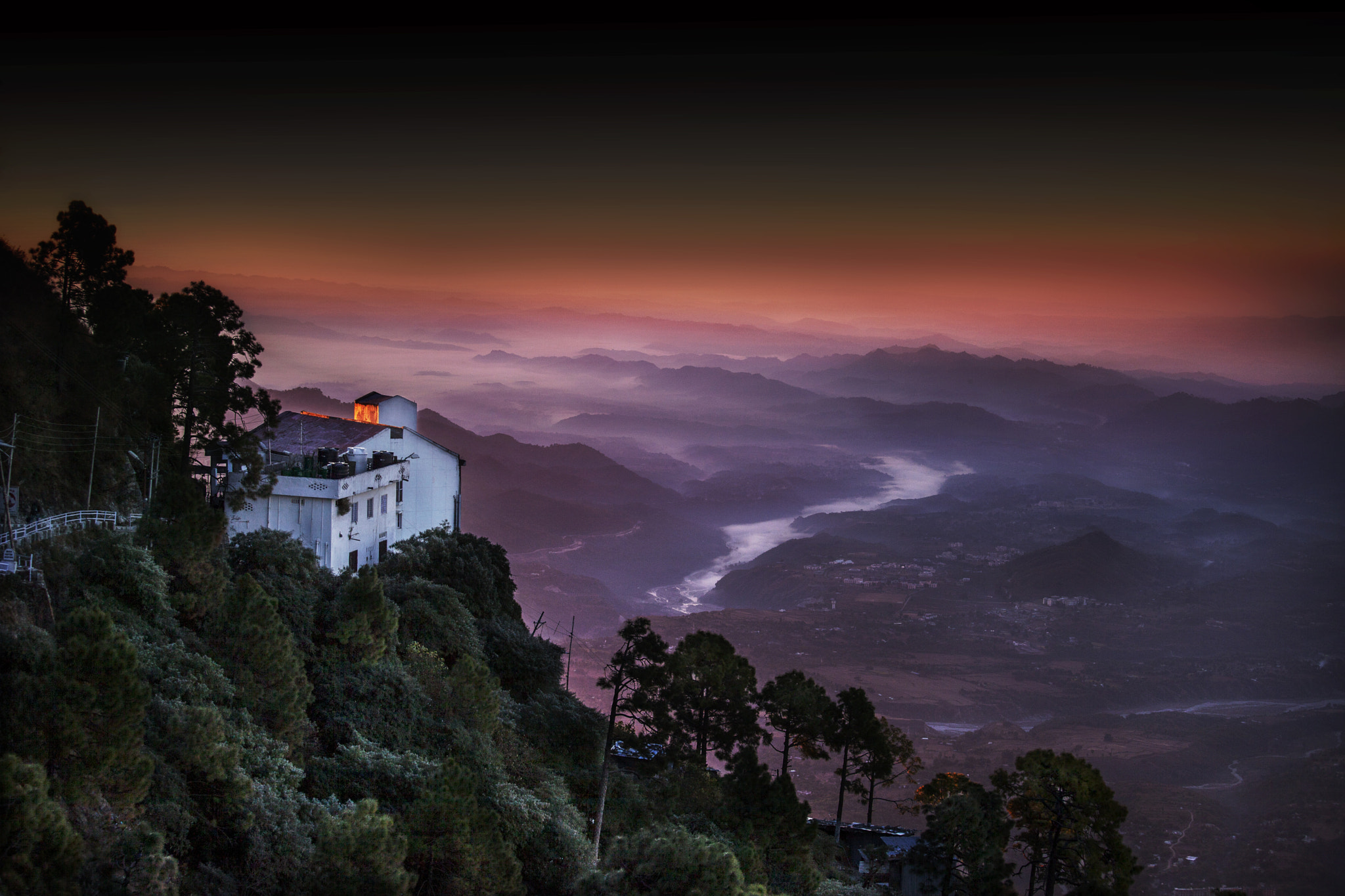 Photograph Sunset At Vaishno Devi by Siddharth Sharma on 500px
