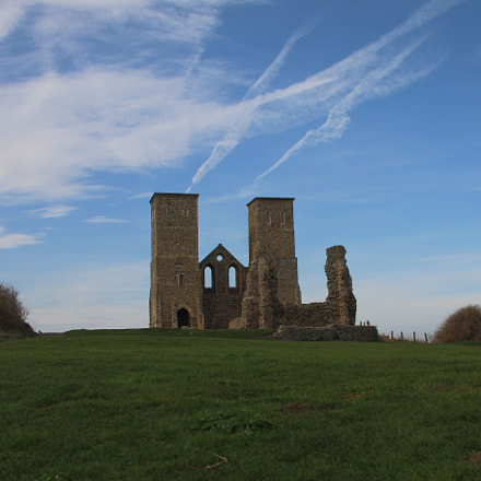 Reculver Towers, Canon EOS 70D, Sigma 18-125mm f/3.8-5.6 DC OS HSM