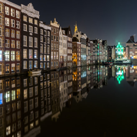Amsterdam by night, Nikon D300, Sigma 10-20mm F4-5.6 EX DC HSM