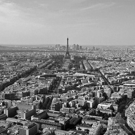 Paris Arteries from above, Sony DSC-H9