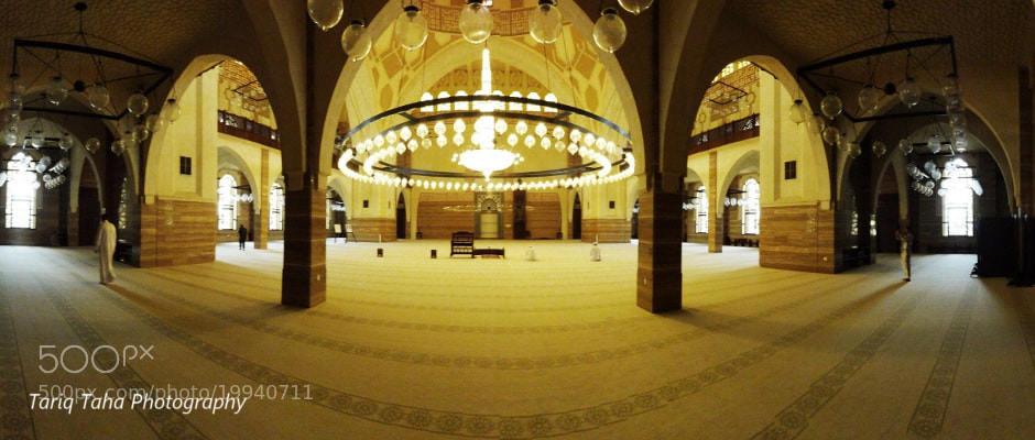 Photograph Al-Fateh Mosque Bahrain by Tariq Taha on 500px