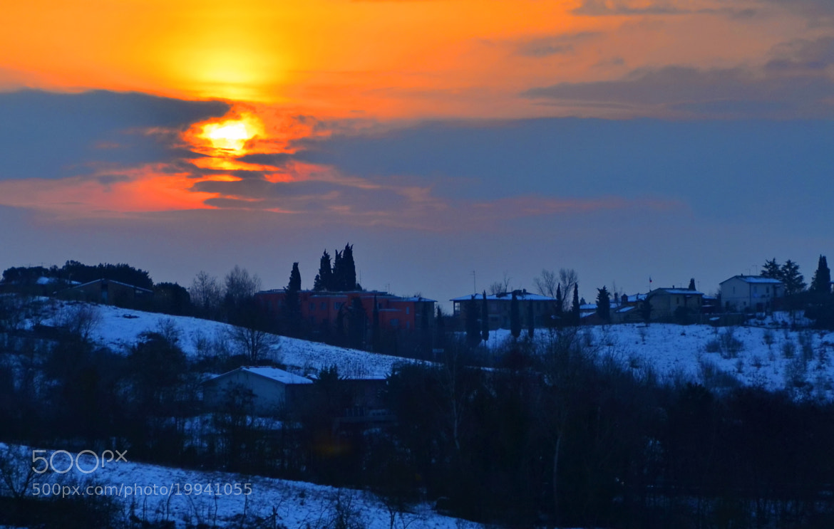 Photograph Sunset in Siena by Sheffi M. on 500px