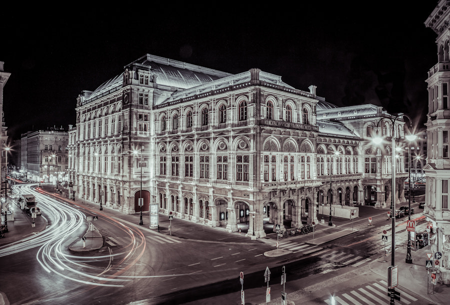 Photograph vienna night by Bernhard Photography  on 500px