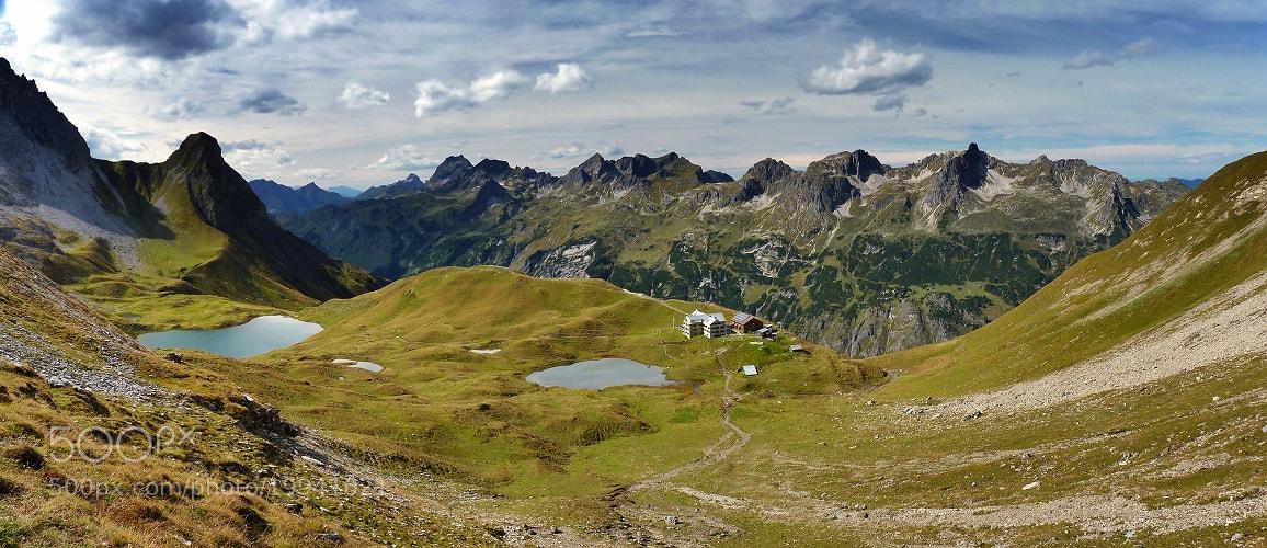 Photograph Allgaeu Alps panoramic 2 by Johannes Ha on 500px