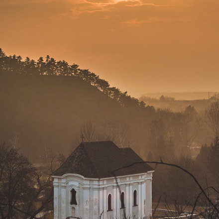 Sunset in Veszprém, Nikon D7200, Sigma 24-70mm F3.5-5.6 Aspherical HF