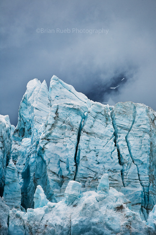 Photograph The Cold of Blue by Brian Rueb on 500px