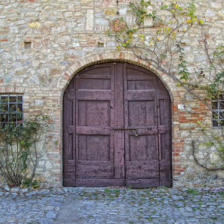 Rocca D'Orcia Garage, Canon POWERSHOT G7