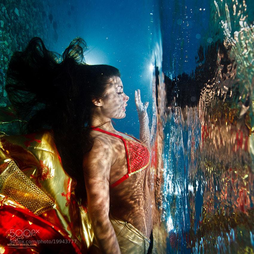 Photograph underwater dance by Vitaliy Sokol on 500px