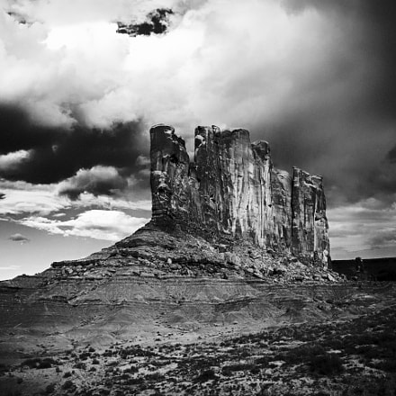 Camel Butte, Canon EOS M3, Canon EF-M 18-55mm f/3.5-5.6 IS STM