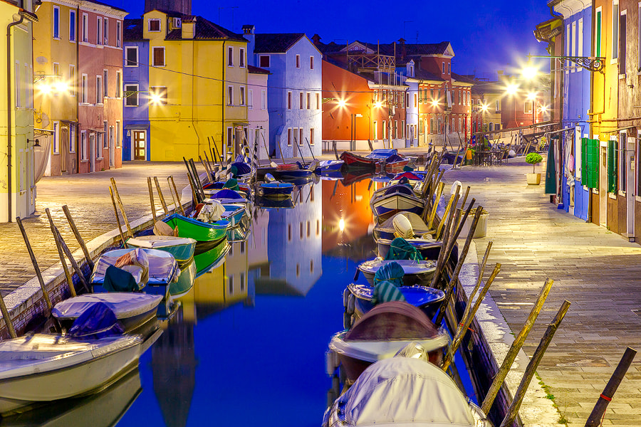 Photograph Burano Blue by Jim Nilsen on 500px