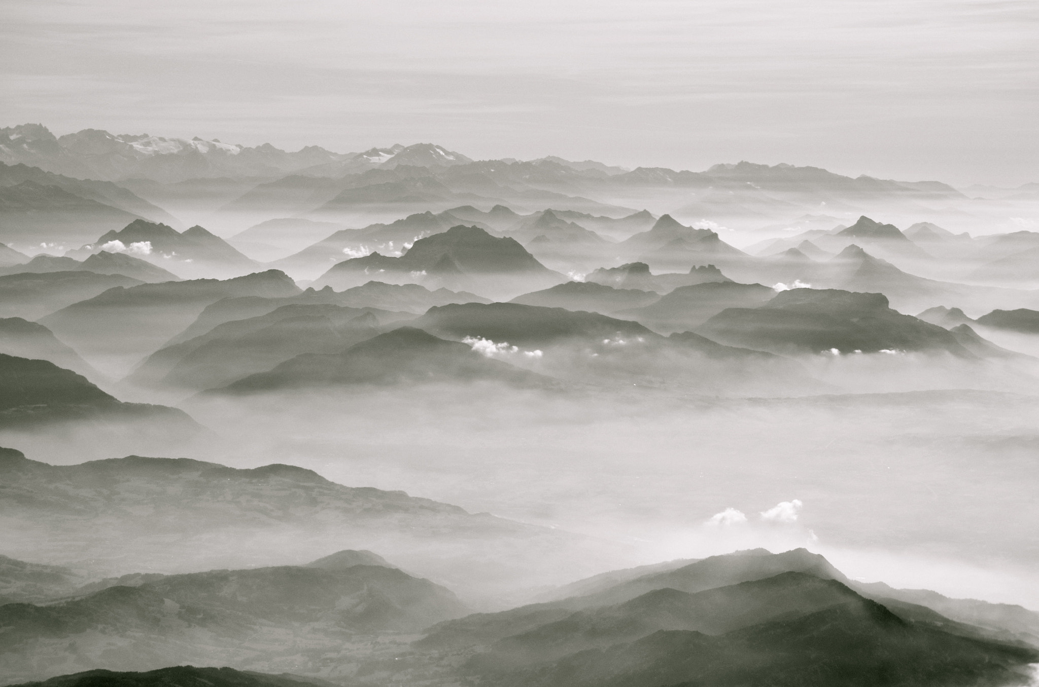 Photograph Cloudy mountains by Niels Renard on 500px