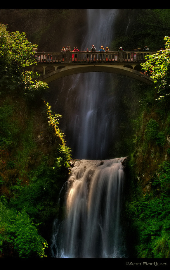 Photograph Multnomah Falls by Ann Badjura on 500px