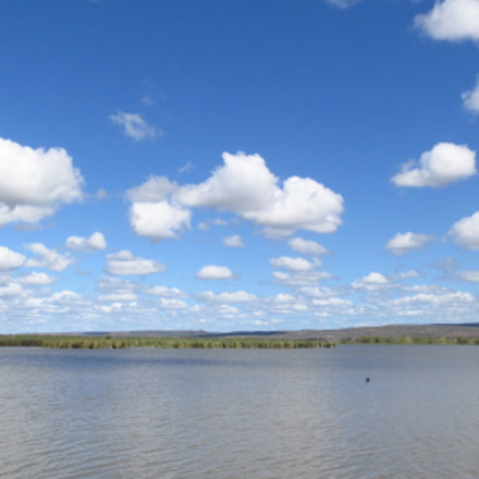 Clouds & Lake, Canon POWERSHOT SX170 IS