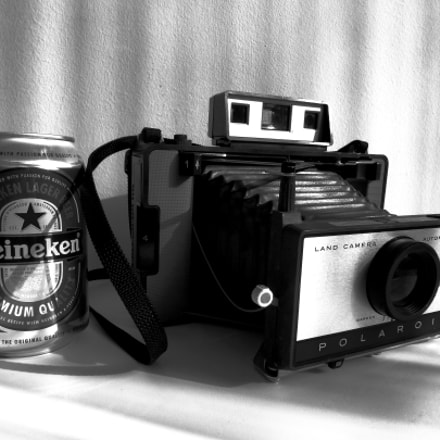 Polaroid with Beer, Panasonic DMC-ZS8