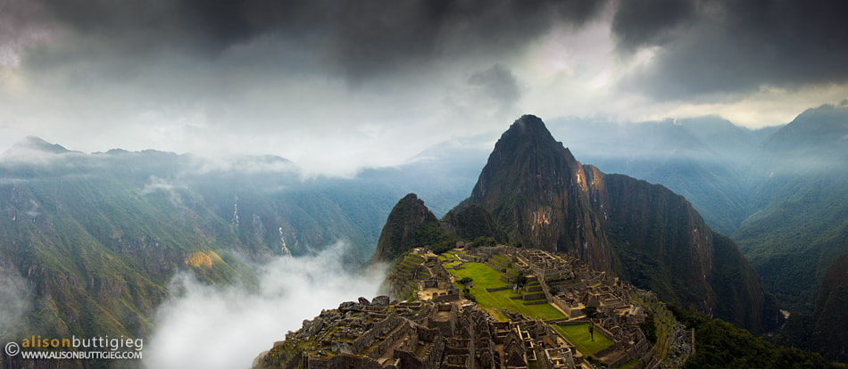 Photograph Clouds about to envelop Machu Picchu by Alison Buttigieg on 500px
