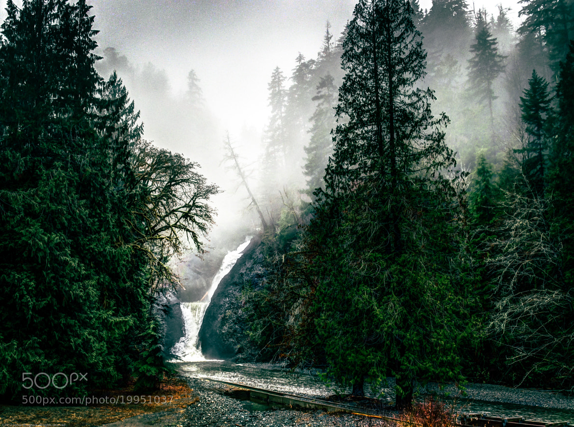 Photograph Waterfall w/Fog by Conor Musgrave on 500px