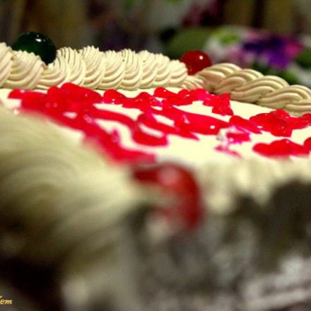 cake- birthday, Canon EOS 60D, Canon EF-S 18-55mm f/3.5-5.6 IS