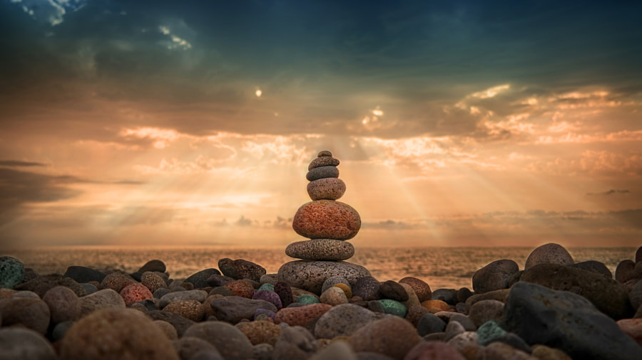 Beach Stones by Murat CAN on 500px.com