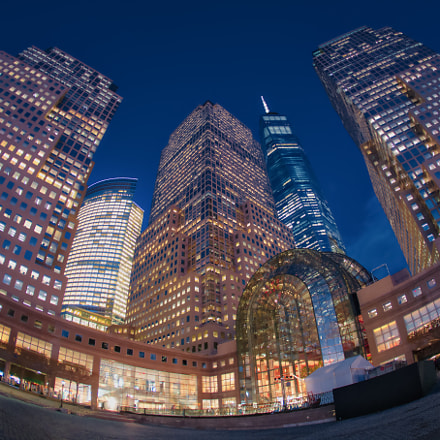 New York City Buildings, Canon EOS 6D, Canon EF 15mm f/2.8 Fisheye