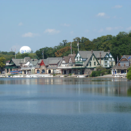 Boathouse Row, Philadelphia, Pa., Panasonic DMC-ZS8