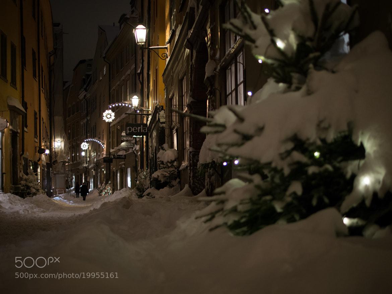 Photograph Snowy Gamla Stan - Stockolm by Ewout van Straaten on 500px