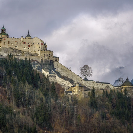 FORTRESS HOHENWERFEN Where Eagles, Sony ILCE-7RM2, Canon EF 70-200mm f/4L IS