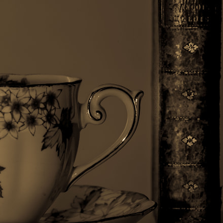Cup and a book, Canon EOS 5D MARK III, Sigma APO Macro 150mm f/2.8 EX DG HSM