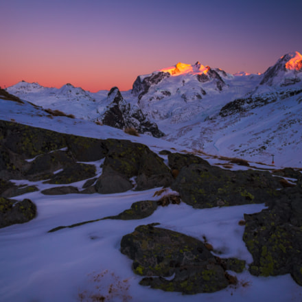 Glowing Peaks, Canon EOS 6D, Canon EF 24-70mm f/4L IS USM