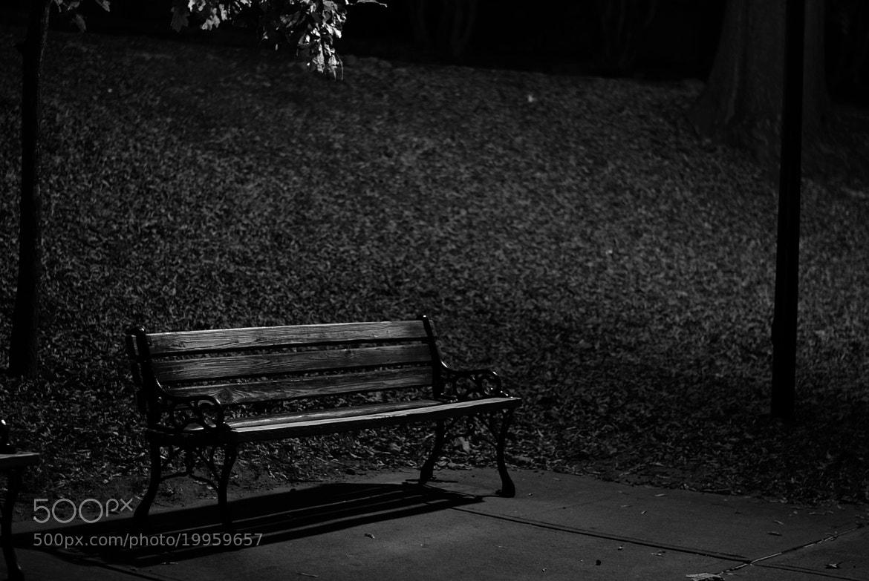 Photograph bench by Kyle Pulikowski on 500px