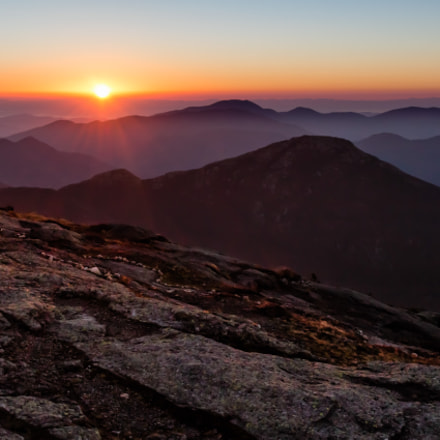 Sunrise from Summit of, Canon EOS REBEL SL1, Canon EF-S 24mm f/2.8 STM