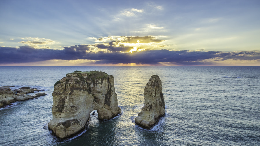 One sunset in Beirut