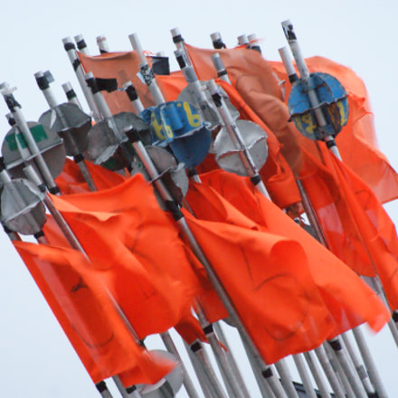 flags, Sony DSLR-A350, Sony DT 55-200mm F4-5.6 (SAL55200)