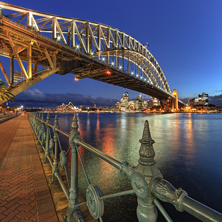 Milson's Point View, Canon EOS 5D MARK II, Canon EF 14mm f/2.8L II USM