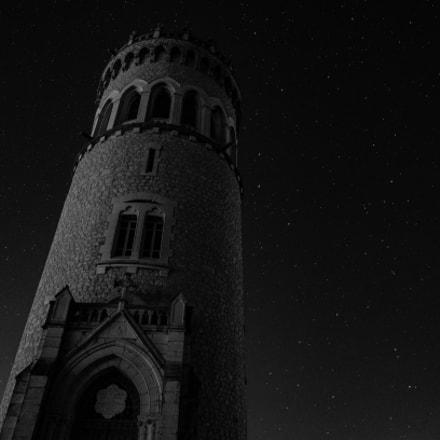 nuit étoilée l'hiver