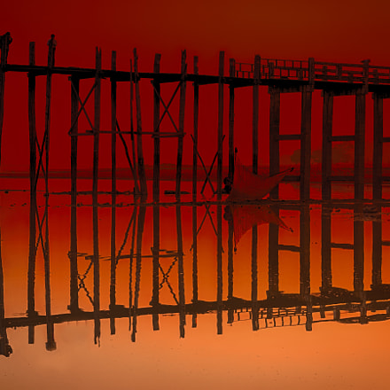Silhouette of Abstract and, Canon EOS 6D, Canon EF 70-200mm f/4L IS