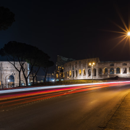 Colosseum Night, Nikon D610, AF-S Nikkor 20mm f/1.8G ED