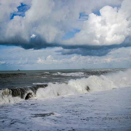 Black Sea.Storm.Sochi, Canon POWERSHOT A2100 IS