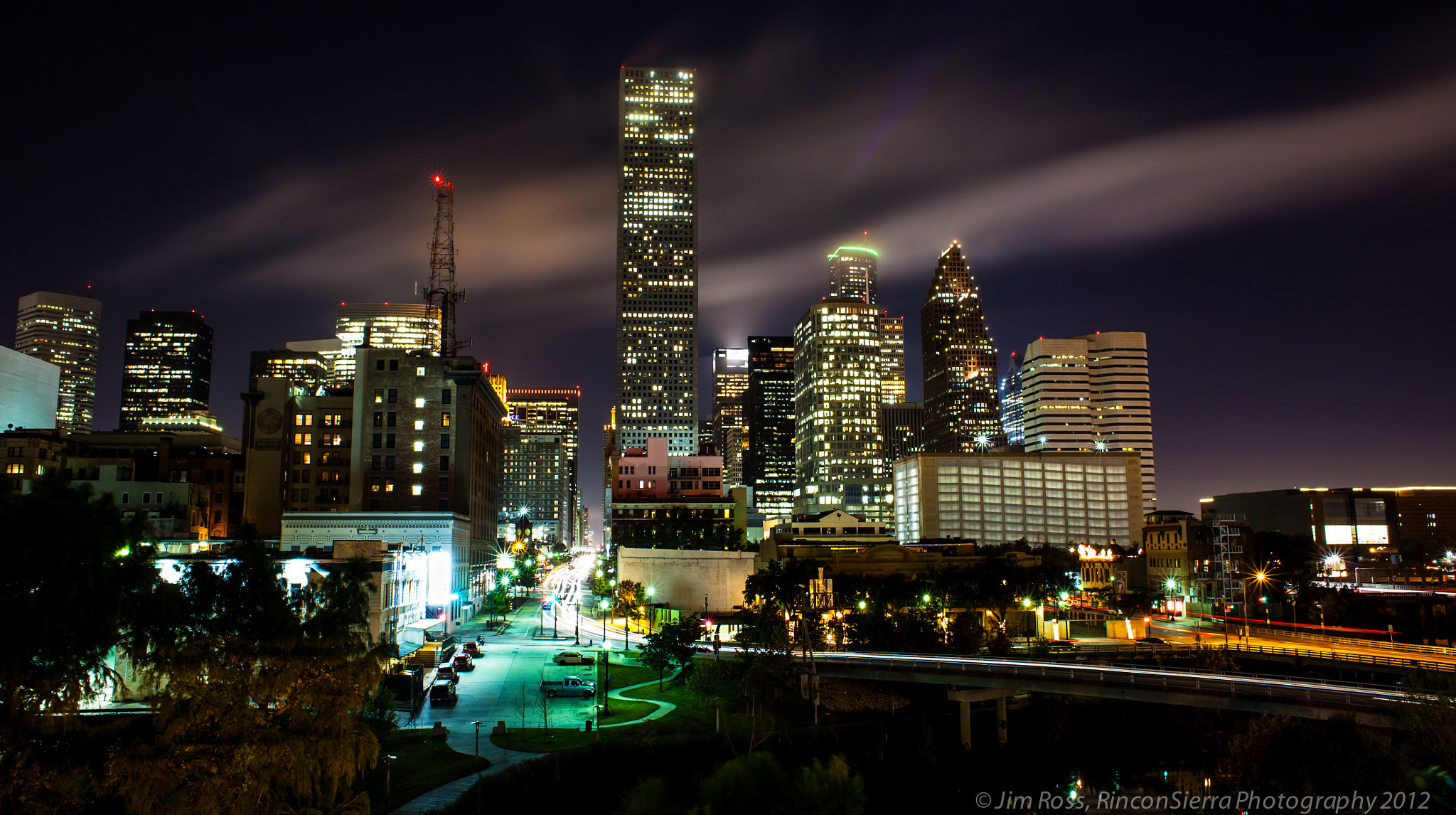 Photograph Wide Angle Downtown Houston!!! by Jim Ross on 500px