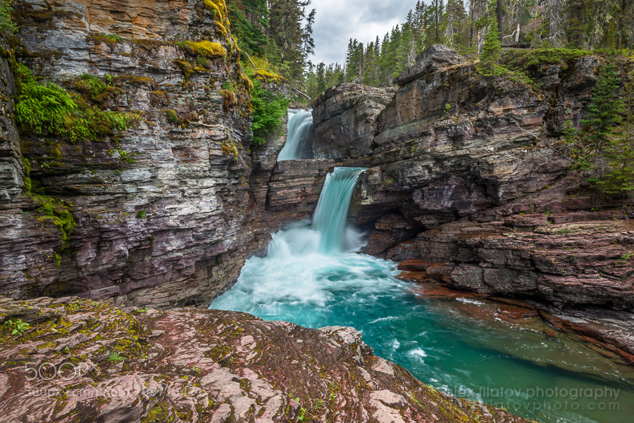 Photograph St. Mary Falls by Alex Filatov | alexfilatovphoto.com on 500px
