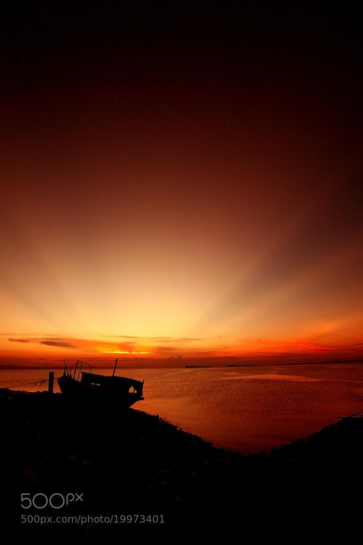 Photograph glorious sunset III by Aziz Albumkasih on 500px