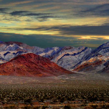 Death valley, Panasonic DMC-GH1, Lumix G Vario HD 14-140mm F4.0-5.8 Asph. Mega OIS